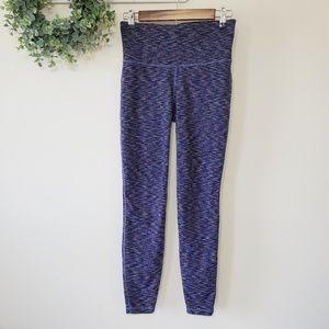 GapFit Blue and Pink Yoga Pants/ Leggings Size Sm